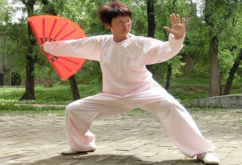 E08  Chen Style Taichi – Taichi Fan - 師虛太極養生學院